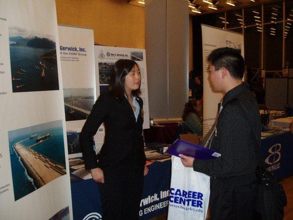 UC Berkeley Career Center Peer Corner: Career Fairs